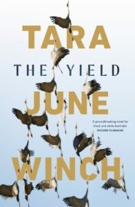 Image shows cover of Tara June Winch's novel The Yield