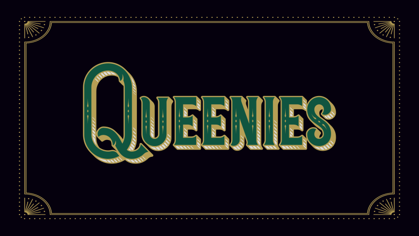 Image shows Queenies logo