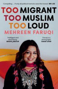October read: Too Migrant Too Muslim Too Loud  by Mehreen Faruqi